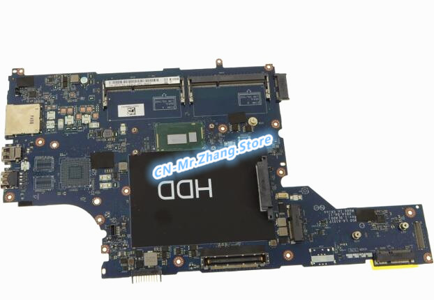 SHELI для Dell E5540 материнская плата для ноутбука с i3-4030U процессором 57CTW 057CTW CN-057CTW LA-A101P тест DDR3L 100% хорошее