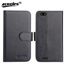 цена на Fly Nimbus 17 FS527 Case 2017 6 Colors Dedicated Flip Leather Exclusive 100% Special Phone Cover Cases Card Wallet+Tracking