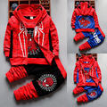 3pcs/Set Autumn Spiderman Kids Clothes Set Toddler Boys Sleeveless Hooded Coats + Long Sleeve T shirt + Legging Pants Outfit 21