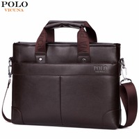 VICUNA POLO Promotional Mens Briefcase Casual Business Men S Shoulder Bag Large Size Computer Laptop Handbag