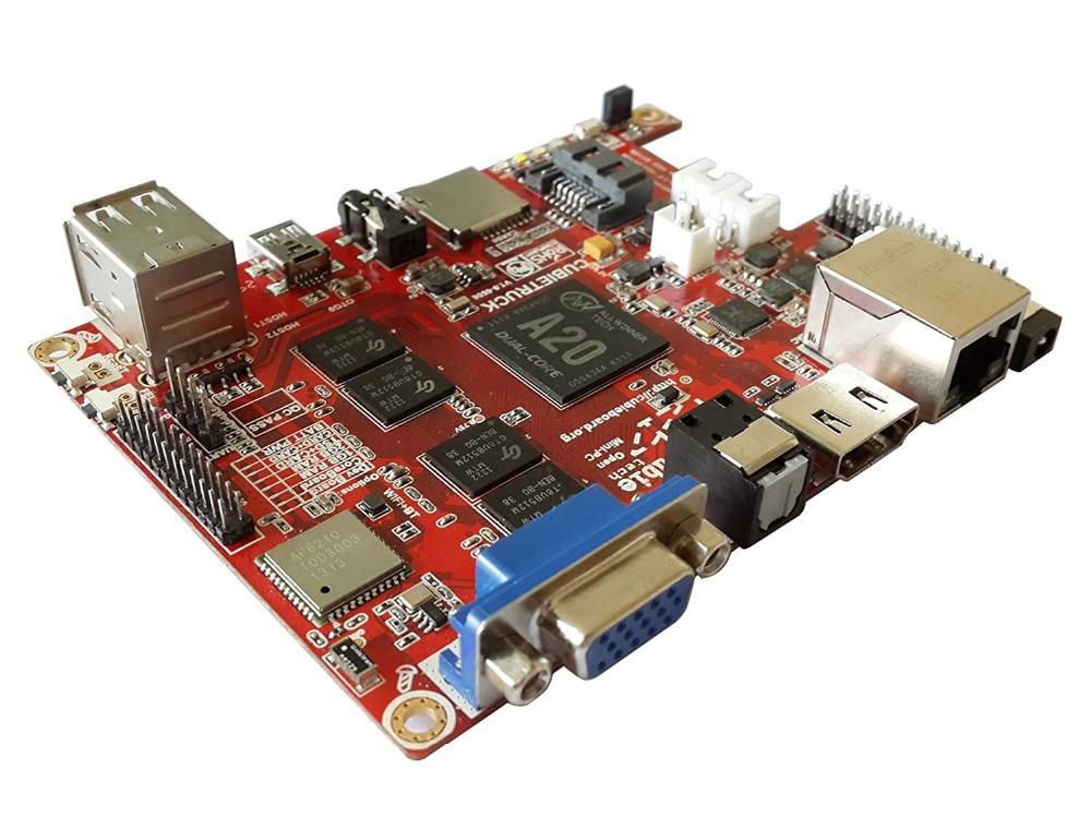 Cubieboard3 Allwinner A20 Dual-core ARM Cortex-A7 2G DDR 8G Flash Open Hardware Single-board Computer full kit cubieboard3 cubietruck dual core a20 development board w 2gb ddr3 memory hdmi vga