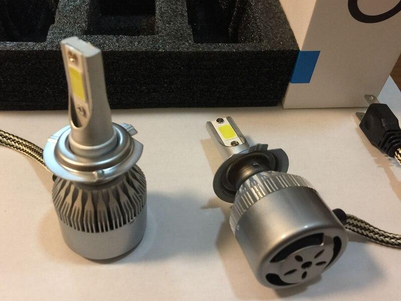 Prix pour Tout En Un S2 C6 Voiture Led Phare H1 H3 H7 H8 H11 H4 H13 9005 9006 880 5202 9012 3800lm 3000 K 6000 K LED Ampoule De Voiture Auto Projecteur