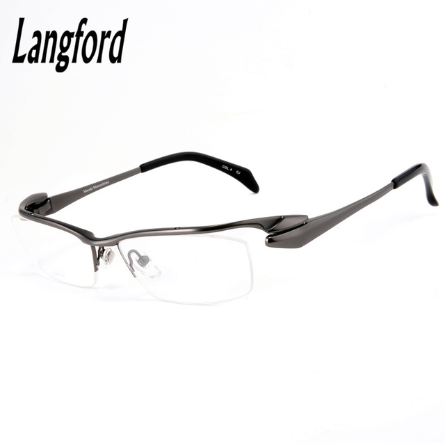 High end pure titanium eyeglasses frame men optical glasses eyeware ...