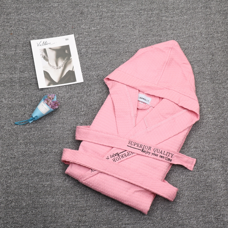 Robes Men Softness Satin Cotton Sleepwear Male Geomtric Pattern Bathrobes Long-Sleeve Pijama Sleeping Robe Spring Summer