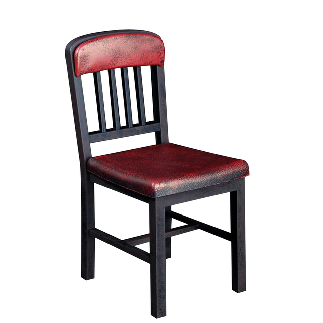 1//6 Plastic Metallic Color Chair Model for 12/'/' Action Figure Red