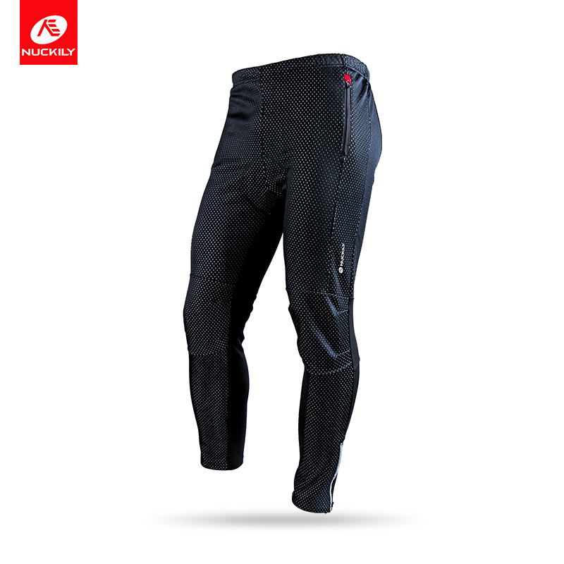 Nuckily Men's Winter Bicycle Pants Waterproof and Windproof Outdoor Breathable Polyester Durable Fabric Cycling Sports Tights 2017 new style electric bike battery 24v 100ah lithium battery pack with bms customized page 4
