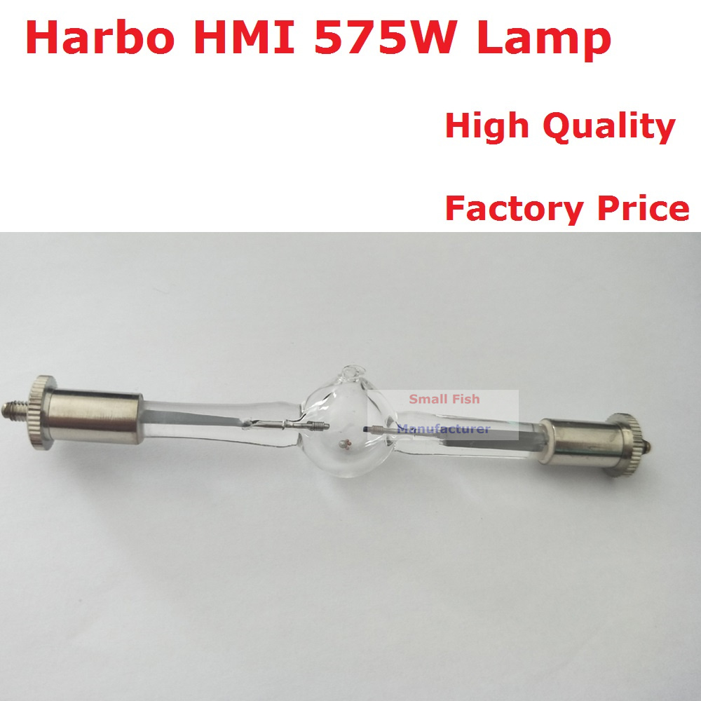 Free shipping HMI 575/2 Stage Scan Lamp Bulb 575W Moving Head Light Lamps HMI575W Professional Scanner Lights Metal Halogen Lamp 2017 new time limited professional ce osram ushio halogen cup lights silver film coating machine light bulb jcr15v150wbal