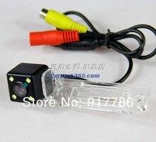 Бесплатная доставка CCD с 4 LED резервное копирование Камера заднего камера заднего вида парковка для VW Passat Sagitar/Touran/Passat B6