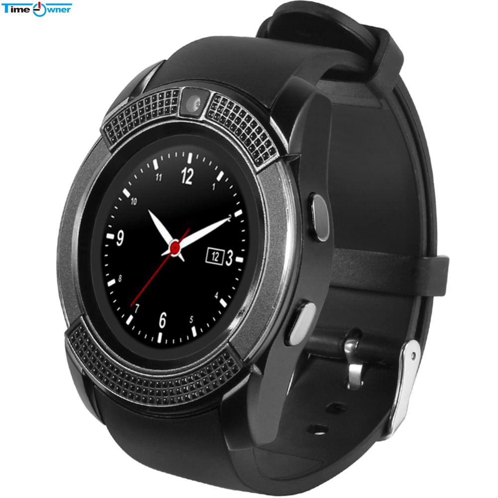 original full round smart watch for android phones sport. Black Bedroom Furniture Sets. Home Design Ideas