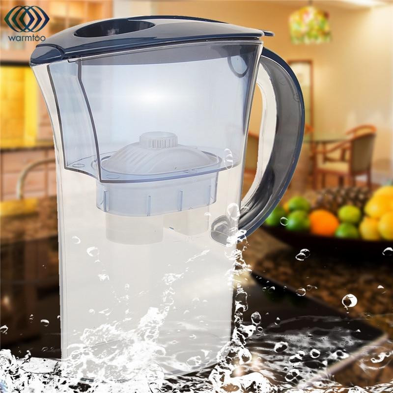 Water Purification 2.5L Jug Brita Water Filters Purifier Healthy Mineral Water Lonizer Alkaline Filtered Pot Household kitchen wholesale lcd alkaline water ionizer