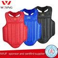 Wesing Sanda artes marciales pecho guardia boxeo pecho guardias MMA Muay Thai protectores de pecho Plus tamaño 2XL