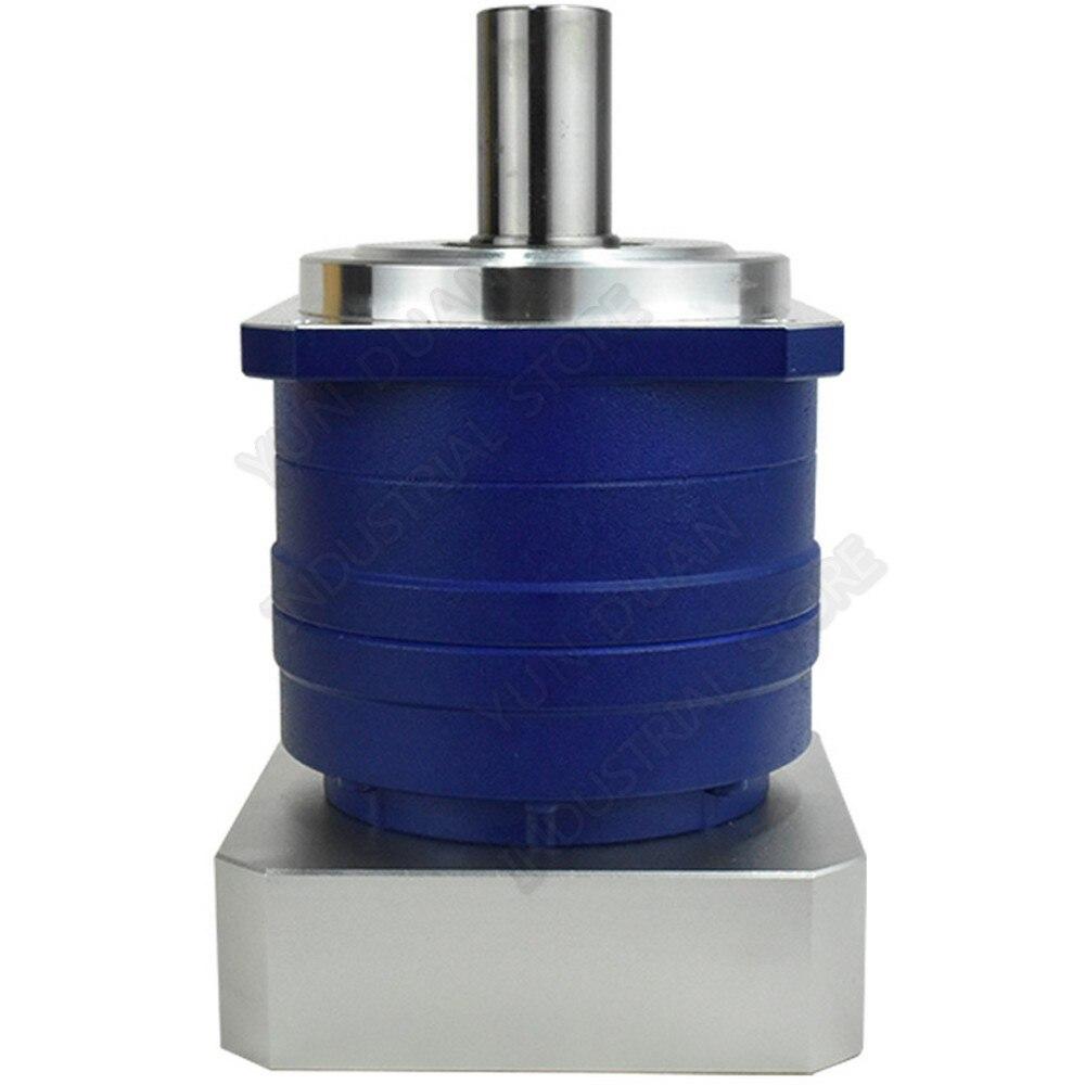 5:1 reductor de engranaje helicoidal planetario 3 Arcmin 22mm entrada para NEMA52 120mm 130mm 1KW 2KW 3KW AC Robot Servo Motor CNC