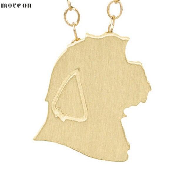 1pc Gold Silver Shih Tzu Discontinued Charm Necklace Shih Tzu