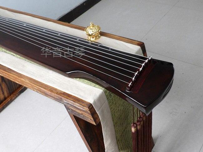 2019 arbitraje paulownia guqindestacados envío Paulownia Fuxi Guqin estilo, principiantes preferidos, instrumentos populares chinos - 2