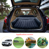 Deflatable Air Inflation SUV Car Bed Mattress Back Seat Camping Flocking PVC Original Drive Travel Car