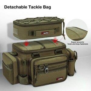 Image 2 - Piscifun grande capacité sac De pêche Portable multifonctionnel sac De boîte De matériel polyvalent en plein air randonnée Camping Bolsa De Pesca