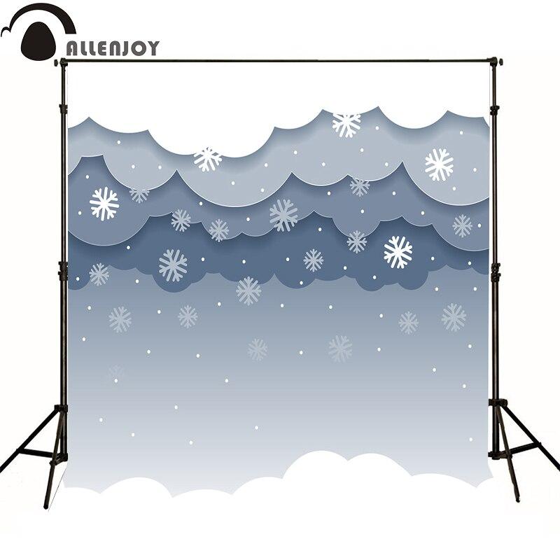 Alle joy photographic background cloud snowflake cartoon sky baby cute thin vinyl Computer printing camera fotografica