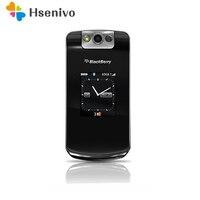 8220 original desbloqueado blackberry pearl flip 8220 telefone móvel 2mp remodelado blackberry 8220 celular frete grátis