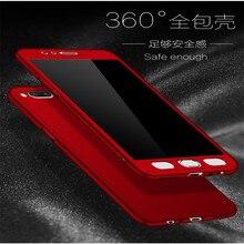 360 Full Protection PC Hard Cases For Xiaomi Mi A1 Mia1 5X Mi5x cover mi Matte case coque + Glass Film