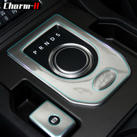 Interior Invisible Protective Film Vinyl Wrap TPU Stickers for Land Rover Discovery 4 LR4 CD Gear Shift Door Panel Protection