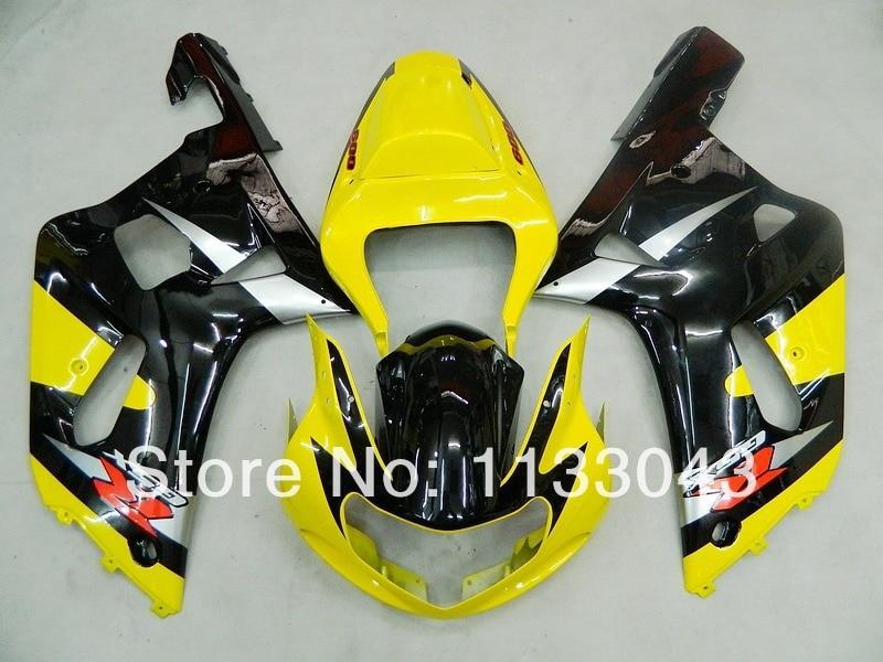 Подходит инъекции черного, желтого цвета обтекатель комплект для SUZUKI GSX-R1000 GSXR1000 GSX R1000 GSXR 1000 K2 K1 00 01 02 2000 2001 2002 Fairi
