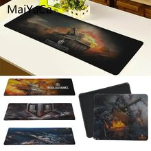 MaiYaCa World of Tanks Mouse Pad pad to Notbook Computer Mousepad Overlock Edge Big Gaming