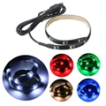 1W 30CM 3528 SMD Multicolor Flexible 12 Led Strip Light Waterproof IP65 With USB Port Cable Super Bright Home Decoration