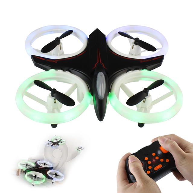 XXD158 Mini Beginner RC Drone with Altitude Hold and Headless Mode 3D Flip Quadcopter  LED Helicopter Toy VS H36 E010