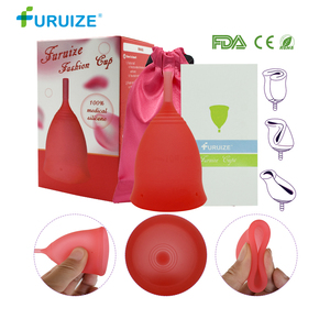 Fashion women Cup Medical Grade Silicone