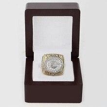 Réplica al por mayor 1996 Green Bay Packers Super Bowl Campeonato del mundo Anillo de plata de Cobre de Alta Calidad con Caja De Madera Preciosa