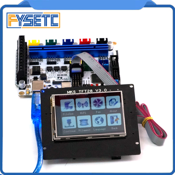 F5 V1.2 Control Board Replace BASE 1.4 & Ramps 1.4 Controller Board + TFT 28 V3.0 Display Color TFT Support WIFI