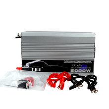 цена на 5000W Power Inverter Charger DC 12V To AC 220V Auto Car Power Inverter Surge Power 10000W 30Amps Car Battery Charger  with Plug