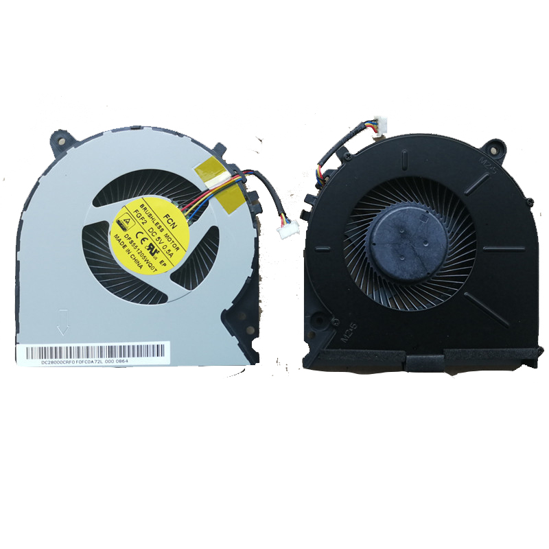 NEW <font><b>Laptop</b></font> Cooling Fan For <font><b>Lenovo</b></font> IdeaPad <font><b>Y700</b></font>-15ACZ <font><b>Y700</b></font>-15ISK Original PN: DFS551205WQ0T FGF2 CPU Cooler Radiator Replacement image