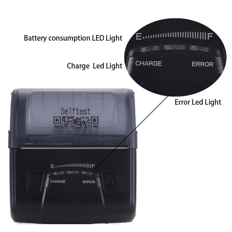 3 düymlük portativ bluetooth istilik qəbulu printerləri AVM qanun - Ofis elektronikası - Fotoqrafiya 3