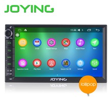 Joying 7 «двухместный 2 Din Android 5.1 Леденец Universal Автомобильный Радиоприемник Quad Core 1024*600 HD Автомобильный GPS Навигации Лучшее Головное устройство Автомобиля ПК