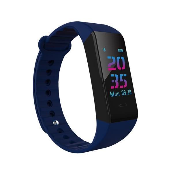 W6S Bluetooth Smart Браслет, трекер активности динамический мониторинга сердечного ритма Смарт-браслет с 0,96 дюйм(ов) TFT Цвет Экран