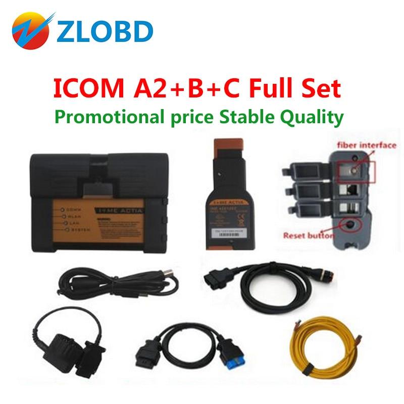 Цена за 2017 Топ DHL Бесплатная для BMW сканер ICOM A2 ICOM A2 + B + C для BMW + Качество для BMW ICOM A2 A B C на продажи лучший в наличии