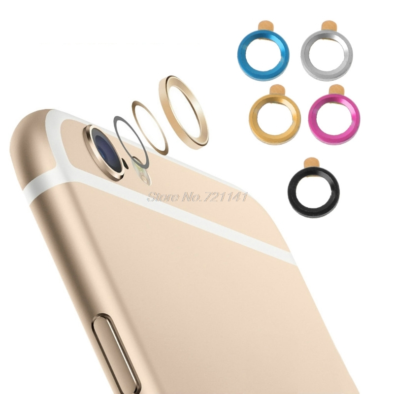 1Pc Metal Mobile Phone Camera Lens Protector Protection Cover For IPhone 6 6s 7 Plus Electronics Stocks