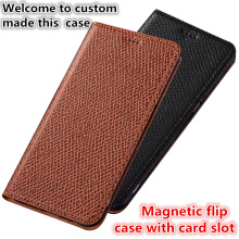 CJ02 Genuine leather magnet flip case with card slot for OnePlus 7 Pro(6.67′) phone case for OnePlus 7 Pro phone bag