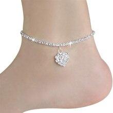 Fabulous Diomedes Women Chain Ankle Bracelet Barefoot Sandal Beach Foot Jewelry Jun23