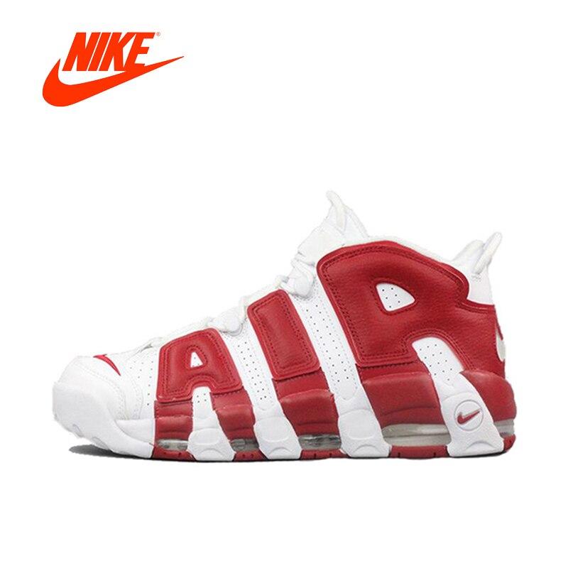 Оригинальный Новое поступление Аутентичные Nike Air более ритмично Для мужчин Мужская баскетбольная обувь спортивные кроссовки