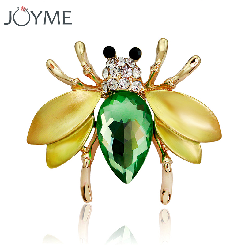 Vintage Enamel Brooches For Women Broach Insect Brooch Pin Badge Lapel Pin Men Broches Animal Broche Pins Clothes Accessories