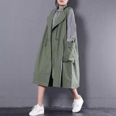Coréenne Grand Show Nouveau Femme Version Costume Poche Lâche Gilet allumette Plus De 2018 Taille Printemps picture La Tout Survêtement Green Col 10C55q4