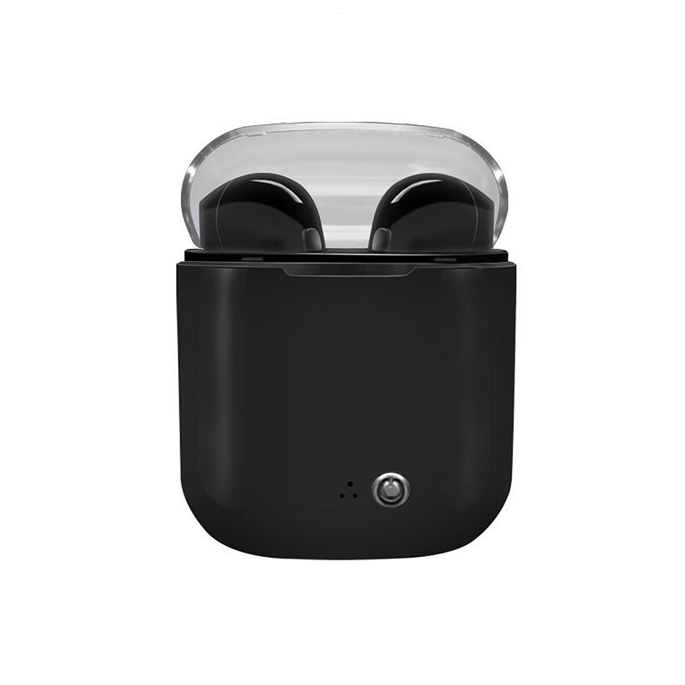 HU I7s TWS Earphones with Charge Box Charger Case Earbud Bluetooth Wireless Music Headphone for IOS Iphone 6 7 Xiaomi Samsung