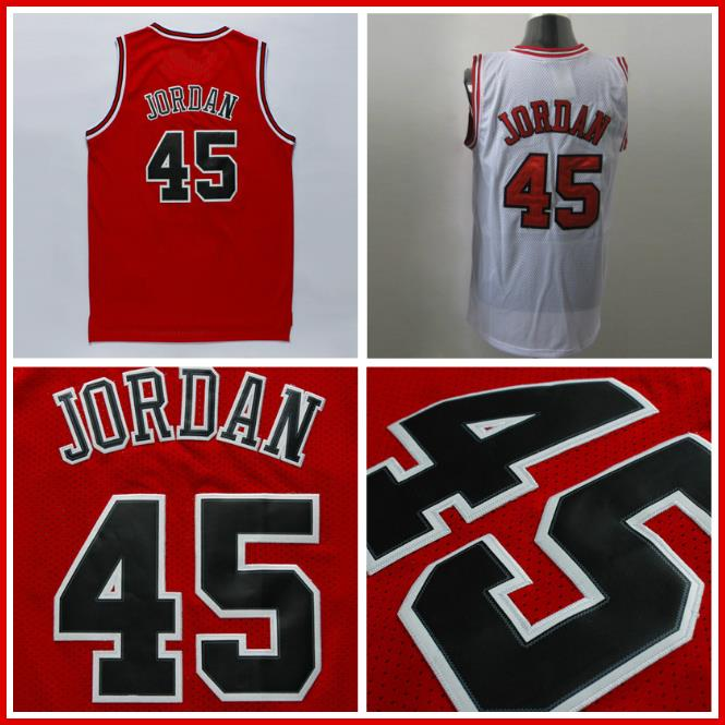 4f699e1144a Mens #45 Michael Jordan Jersey, Cheap Basketball Jerseys Michael Jordan 45,  Name and Number Stitched Basketball Jersey