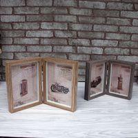 Vintage Photo Frame Home Decor Wooden Wedding Casamento Desktop Wall Picture Frame Best Gift for Baby
