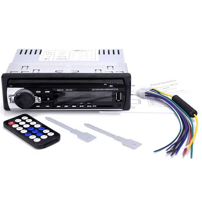 Автокөлік радиосы 12V Bluetooth V2.0 JSD520 - Автомобиль электроникасы - фото 5