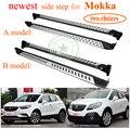 Más corriendo Junta nerf bar pedal lado paso para Opel Mokka... ISO9001 excelente fábrica aleación de aluminio + ABS precio de promoción