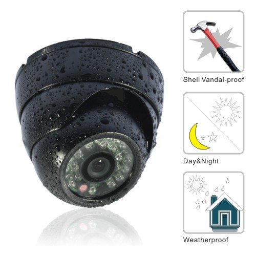 Color IR waterproof Security CCTV Outdoor DOME CMOS Camera 3.6mm lensColor IR waterproof Security CCTV Outdoor DOME CMOS Camera 3.6mm lens