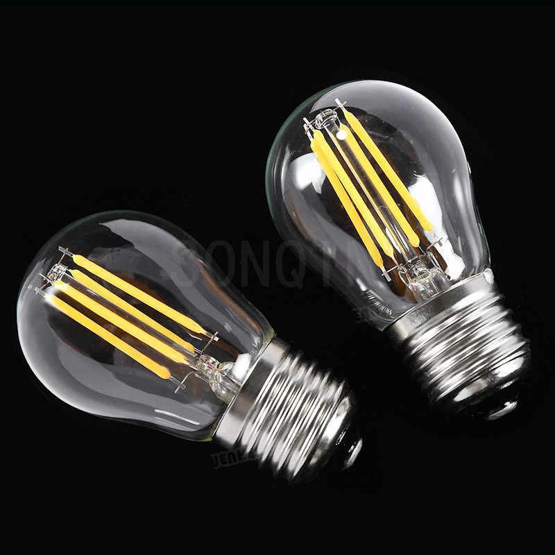 1 sztuk Super Bright 6W 9W 18W 24W Retro W stylu Vintage żarówka edisona E27 E40 oświetlenie led G45 A60 AC220V 240V